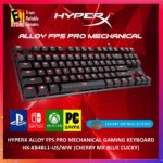 HyperX Alloy FPS Pro (HX-KB4RD1-US/R1) – Cherry MX Red (Linear)