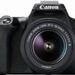 Canon EOS 250D Black + Lens EF-S 18-55 IS STM