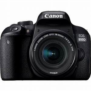 Canon EOS 800D + Lens EF-S 18-55 IS STM