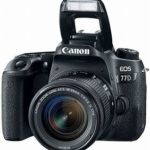 Canon EOS 77D with 18-55mm IS USM Lens