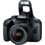 Canon EOS 4000D Black + Lens EF-S 18-55 IS II + Lens EF 75-300 III